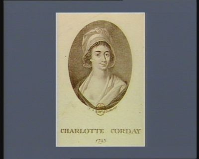 Charlotte Corday 1793 : [estampe]