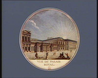 Vue du <em>Palais</em> <em>Royal</em> construit sur les desseins de Jacques Mercier : [estampe]