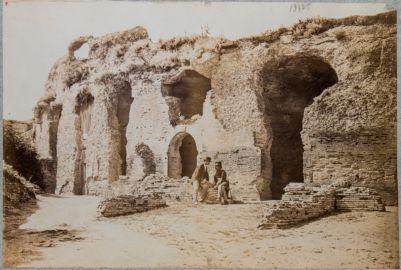 Terme di Tito e Traiano, abside maggiore