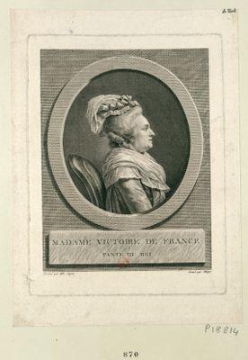 Madame Victoire de France tante du Roi : [estampe]