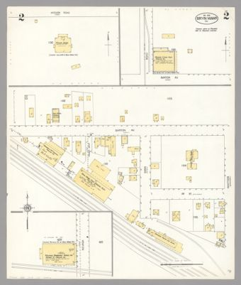 Official Map Of The City Of Calexico Imperial County California In