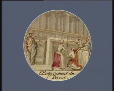 <em>L</em>' Enterrement du sr Perrot [estampe]
