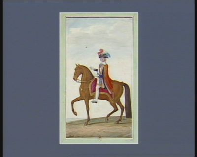 [Membre du Directoire exécutif à cheval] [dessin]