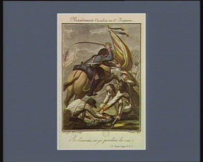 Mandement cavalier au 6.e régiment j l'aurai, ou je perdrai la vie (5 janv. 1792 v.s.) : [estampe]