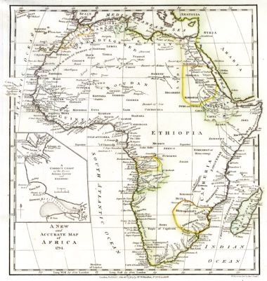 Accurate Map Of Africa.Africana Historical Maps Maps Of Africa An Online Exhibit