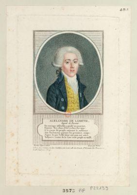Alexandre de Lameth député de Peronne... : [estampe]