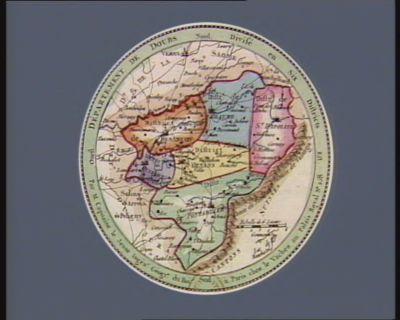 Departement de Doubs divisé en six districts : [estampe]