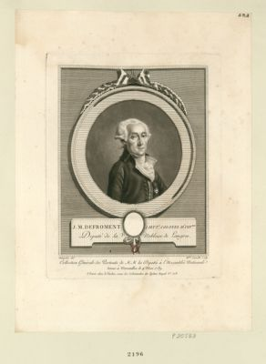 J.M Defroment, lieut.t colonel d'inf.rie député de la noblesse de Langres : [estampe]