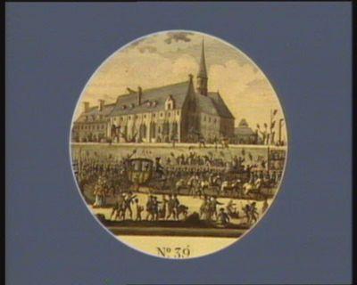 N.o 39 Idem. Le Roi arrivant à <em>Paris</em> avec sa famille... : [estampe]
