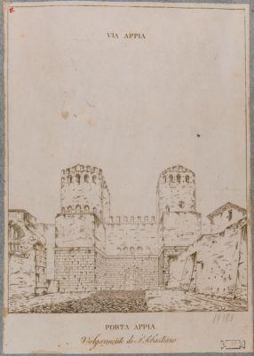 Porta Appia, veduta generale