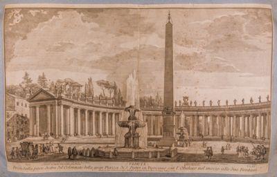 S. Pietro in Vaticano. Portico del Bernini