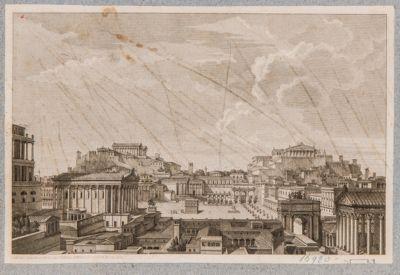 Foro Romano, ricostruzione immaginaria