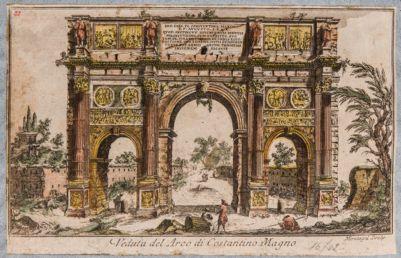 Arco di Costantino, veduta dell'Arco di Costantino