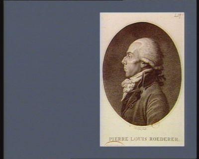 Pierre Louis Roederer [estampe]