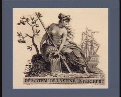 Départem.t de la Seine Inférieure [estampe]