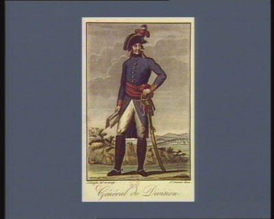 Général de division [estampe]