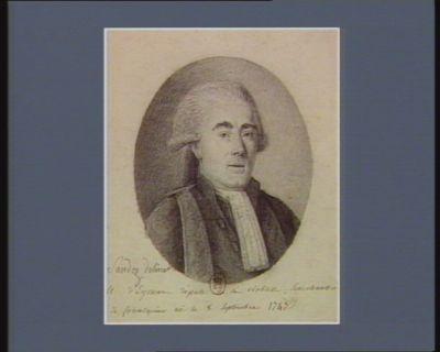 M. d'Eymar député de la Noblesse, Sénéchaussée de forcalquier né le 8 Septembre 1747 : [dessin]