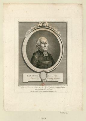 L' Ab. Guino recteur d'Elliant depute de Quimper en Bretagne, né le 19 juin 1734 : [estampe]