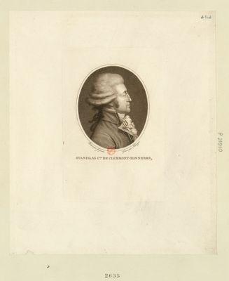 Stanislas c.te de Clermont-Tonnerre [estampe]