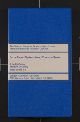 Some expert systems need common sense (1986)