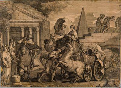 Pantheon, veduta parziale
