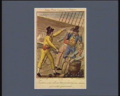 Jean Bari capitaine de vaisseau traitres nous allons tous perir, et je ne serai pas votre prisonnier. 17 mars 1710 : [estampe]