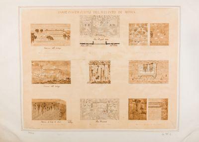 Mura di Roma, varie tecniche costruttive delle mura