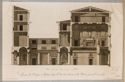 Palazzo Massimi, spaccato