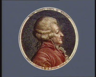 Honoré Gabriel comte de Mirabeau député de la sénéchaussée d'Aix à l'Assemblée nationale en 1789 : [estampe]