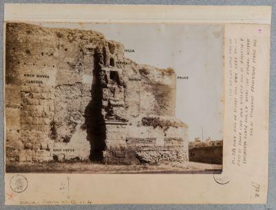 Acquedotto Claudio in congiunzione con gli acquedottti della Julia, Tepula, Marcia e Felice