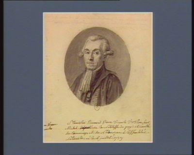 """Stanislas Bernard Pierre vicomte d'Ustou Saint Michel [député : biffé] de la noblesse du pay""""s et comté de Comminges et de Nébouzan à l'Assemblée nationale, né le 16 juillet 1739 : [dessin]"""