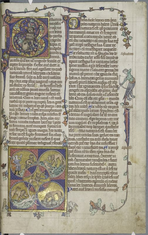 Cambridge, Corpus Christi College, MS 053: The Peterborough Psalter and Bestiary
