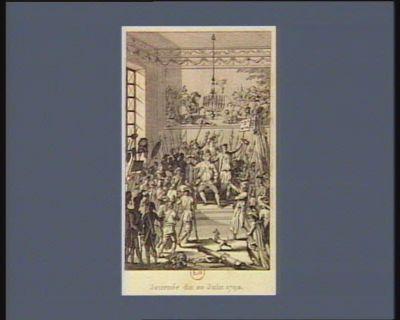 Journée du 20 juin 1792 [estampe]