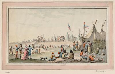 [Préparatifs de la fête de la Fédération en juillet 1790] [dessin]