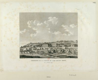 Emigration de La Fayette du camp devant Sedan le 19 aoust 1792 : [estampe]