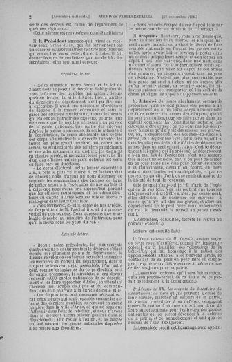 Tome 31 : Du 17 au 30 septembre 1791 - page 2