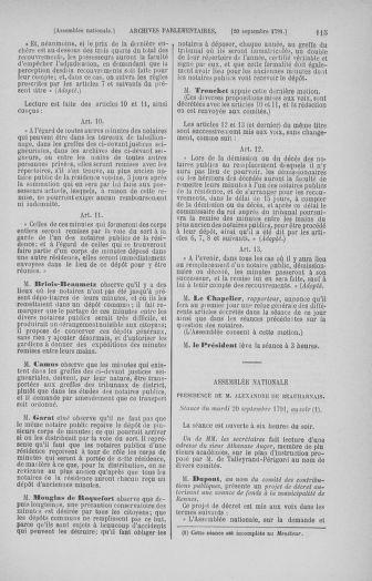 Tome 31 : Du 17 au 30 septembre 1791 - page 115