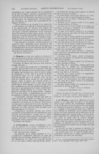 Tome 31 : Du 17 au 30 septembre 1791 - page 116