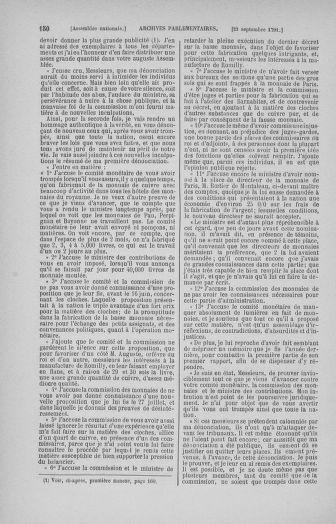 Tome 31 : Du 17 au 30 septembre 1791 - page 150