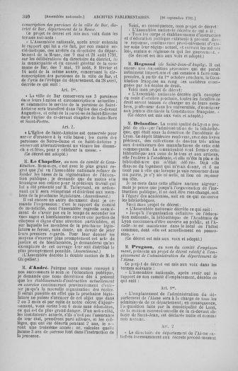 Tome 31 : Du 17 au 30 septembre 1791 - page 340