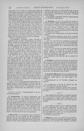 Tome 31 : Du 17 au 30 septembre 1791 - page 342