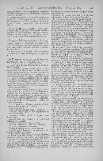 Tome 31 : Du 17 au 30 septembre 1791 - page 357