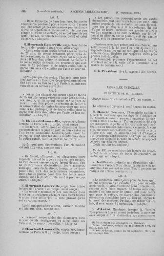 Tome 31 : Du 17 au 30 septembre 1791 - page 364