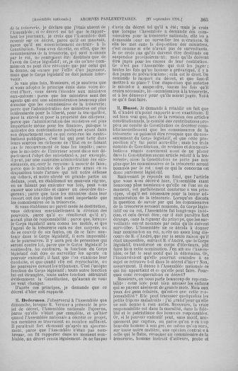 Tome 31 : Du 17 au 30 septembre 1791 - page 365