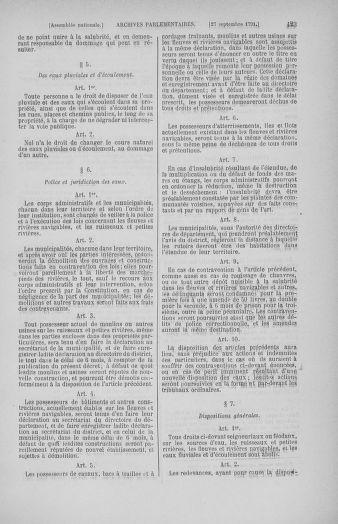Tome 31 : Du 17 au 30 septembre 1791 - page 423