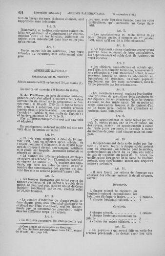 Tome 31 : Du 17 au 30 septembre 1791 - page 424