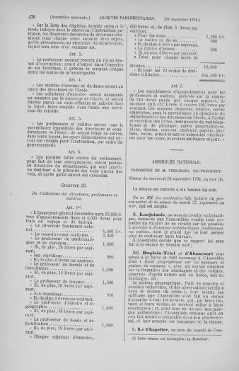 Tome 31 : Du 17 au 30 septembre 1791 - page 476