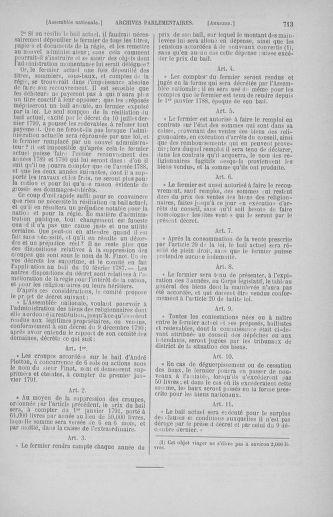Tome 31 : Du 17 au 30 septembre 1791 - page 713