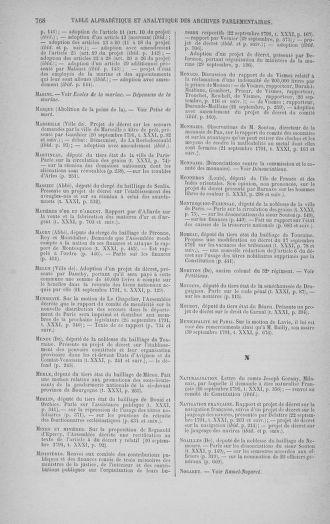 Tome 31 : Du 17 au 30 septembre 1791 - page 768