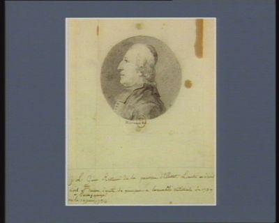 J.L. Guino recteur de la paroisse d'Elliant, licencié en droit civil et canon, député de Quimper à l'Assemblée nationale de 1789, né à Guingamps le 19 juin 1734 : [dessin]